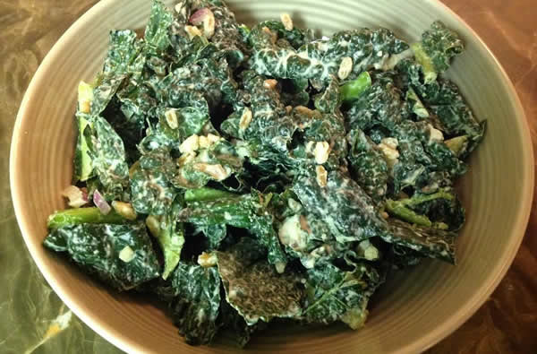 kale and cashew dressing