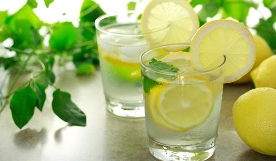 alkaline lemon water